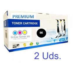 Tóner Samsung ML-2160 / ML-2165 / SCX-3400 / SCX-3405 / SF-760P / SF-765P Negro Pack 2 Uds. Premium