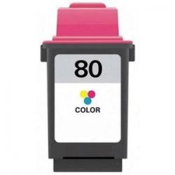 Cartucho de Tinta Lexmark 80 Tricolor Compatible