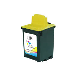 Cartucho de Tinta Lexmark 20 Tricolor Compatible