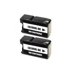 Cartucho de Tinta Lexmark 200XL Negro Pack 2 Uds. Compatible