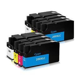 Cartucho de Tinta Lexmark 200XL Multipack 8 Uds. Compatible