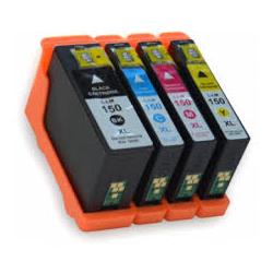 Cartucho de Tinta Lexmark 150xl Pack 4 colores Compatible