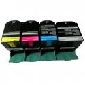 Toner Lexmark CS310 / CS410 / CS510 Pack 4 colores Compatible