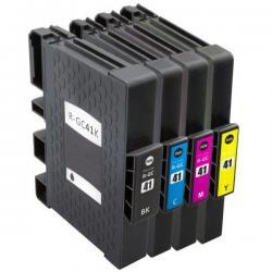 Cartucho de Tinta Ricoh GC 41 Multipack 4 tintas Compatible