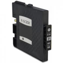 Cartucho de Tinta Ricoh GC 21BK Negro Compatible