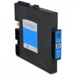 Cartucho de Tinta Ricoh GC 21C Cyan Compatible