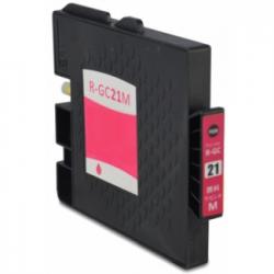 Cartucho de Tinta Ricoh GC 21M Magenta Compatible