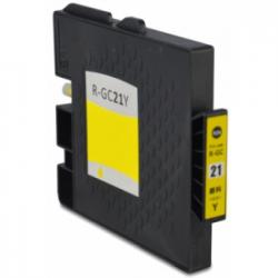 Cartucho de Tinta Ricoh GC 21Y Amarillo Compatible