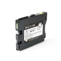 Cartucho de Tinta Ricoh GC 31BK Negro Compatible