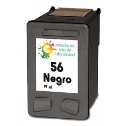 Cartucho de Tinta HP56 Negro Compatible