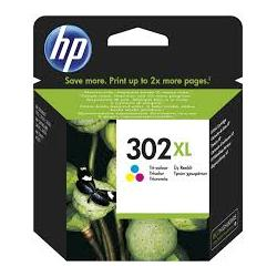 Cartucho de tinta HP 302XL Tricolor Original