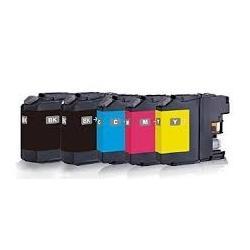 Cartucho de Tinta Brother LC227XL / LC225XL Multipack 5 tintas Compatible