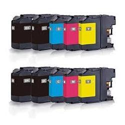 Cartucho de Tinta Brother LC227XL / LC225XL Multipack 10 tintas Compatible