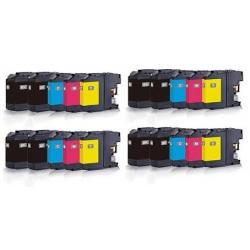 Cartucho de Tinta Brother LC227XL / LC225XL Multipack 20 tintas Compatible