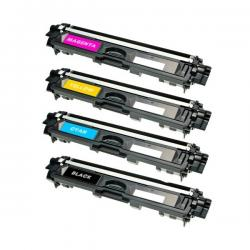 Tóner Brother TN-245 Pack 4 colores compatible