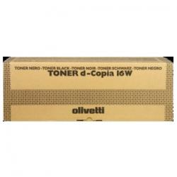 Tóner Olivetti d-Color 16W / d-Copia 16W negro alternativo