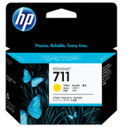 Multipack tinta HP 711 Amarillo Original