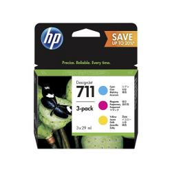 Multipack tinta HP 711 cyan/magenta/yellow Original