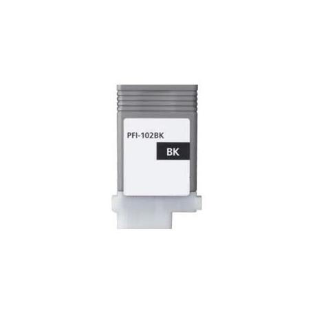 Cartucho de tinta compatible Canon PFI-102bk