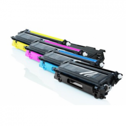 Tóner Brother TN-135 Pack 4 colores compatible