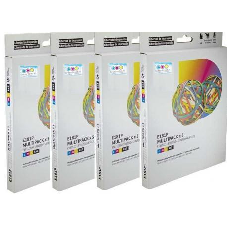 Tinta EPSON 18XL Multipack 20 tintas Compatible