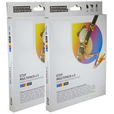 Tinta EPSON T0715 Multipack 10 tintas Compatible