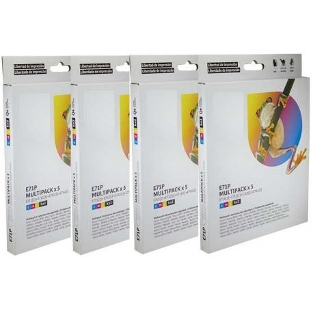 Tinta EPSON T0715 Multipack 20 tintas Compatible