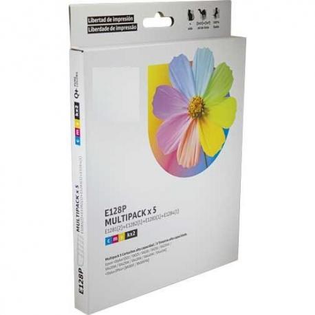 Tinta EPSON T1285 Multipack 5 tintas Compatible
