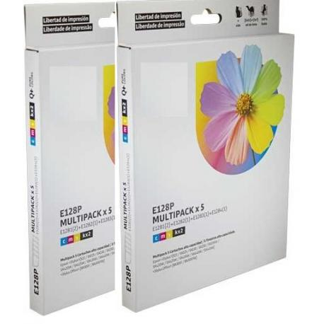 Cartucho de tinta EPSON T1285 Multipack 8 tintas Compatible