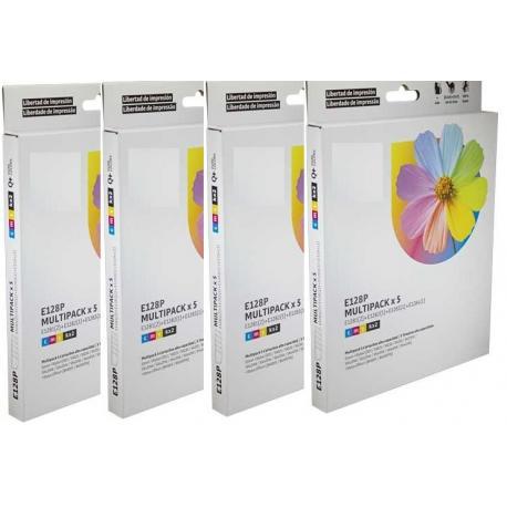 Cartucho de tinta EPSON T1285 Multipack 16 tintas Compatible