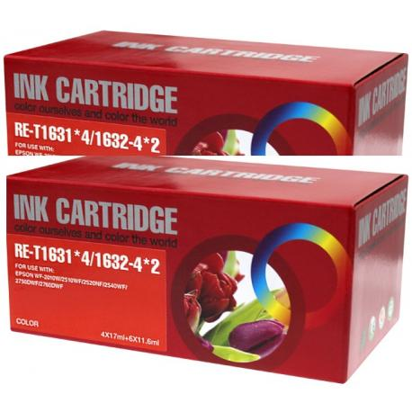 Tinta EPSON T1636 Multipack 20 tintas Compatible