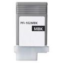 Cartucho de tinta compatible Canon PFI-102bkm