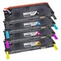 Tóner Dell 1230 / 1235 Pack 4 colores compatible