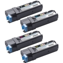 Tóner Dell 2150/2155 Pack 4 colores compatible