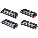 Toner Dell 3110/3115 Pack 4 colores compatible
