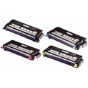 Toner Dell 3130 Pack 4 colores compatible