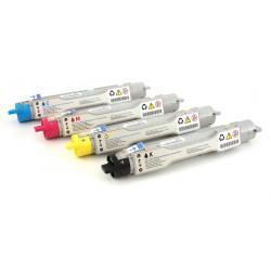Toner Dell 5100cn Pack 4 colores compatible