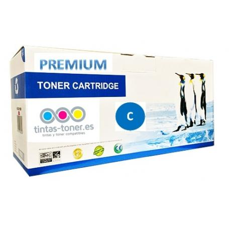 Toner Dell C1660w cían Premium