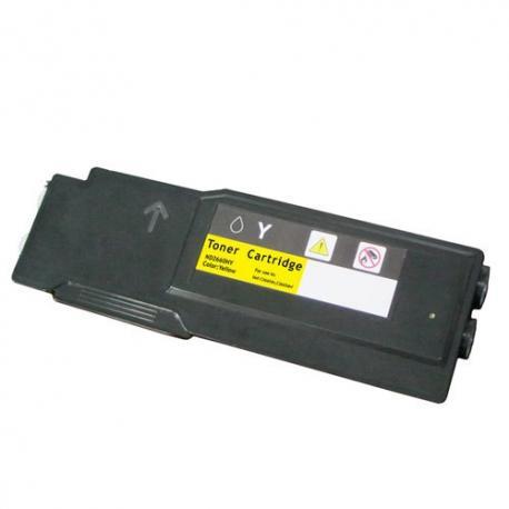Toner Dell C2660/2665 amarillo compatible