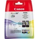 Multipack de tinta original Canon PG-510/CL-511