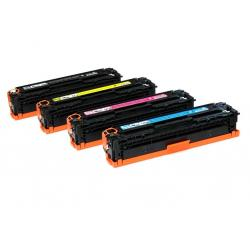 Tóner Canon 716 Pack 4 colores Compatible