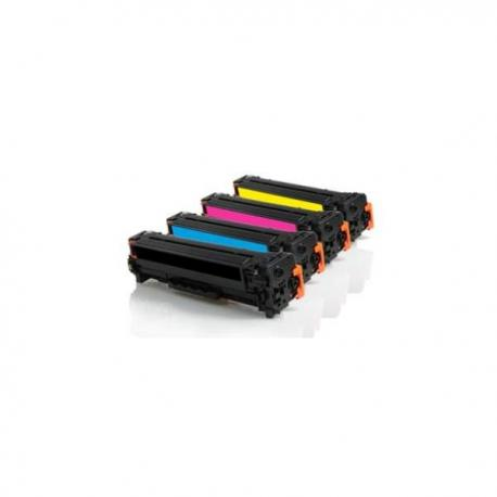 Tóner Canon 718 Pack 4 colores compatible