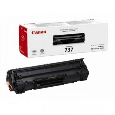 Tóner Canon 737 negro Original