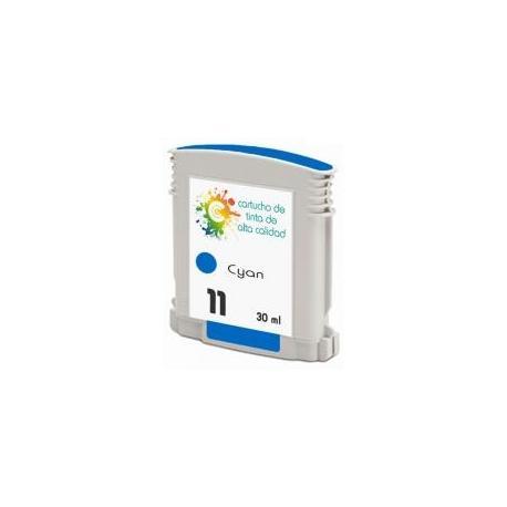 Cartucho de tinta HP 11 Cían Premium