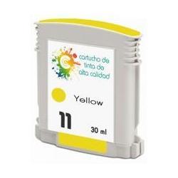 Cartucho de tinta HP 11 Amarillo Premium
