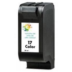 Cartucho de tinta HP 17 Tricolor Premium