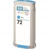 Cartucho de tinta HP 72 Cyan Compatible