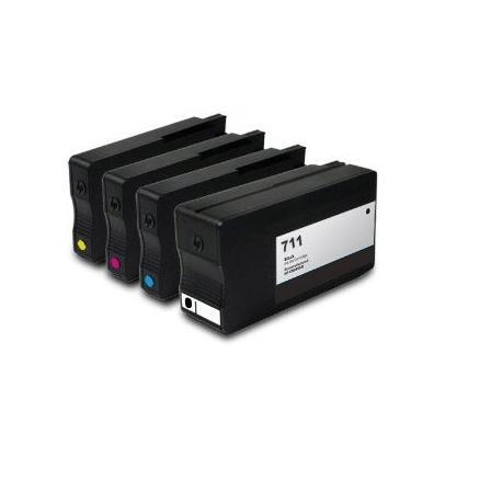 Cartucho de tinta HP 711 Pack 4 colores Compatible