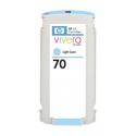 Cartucho de tinta HP 70 Light Cyan Compatible