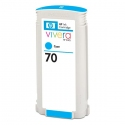 Cartucho de tinta HP 70 Cyan Compatible